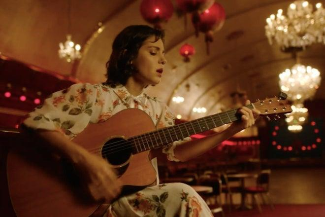 <p>Katie Melua performing a livestreamed gig with no audience at the Rivoli, produced by Driift</p> (Driift)