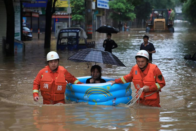 flood rescue in china
