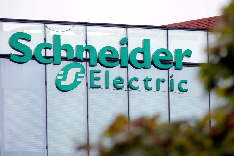 Schneider Electric confident it can overcome coronavirus hit, shares climb