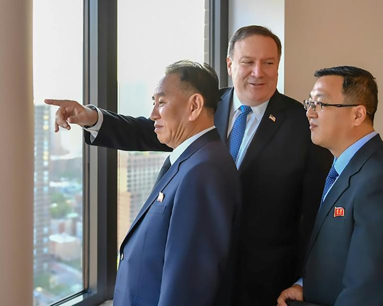 Secretary of State Mike Pompeo and Kim Yong Chol met three times on Wednesday and Thursday to help prepare for the planned US-North Korea nuclear summit