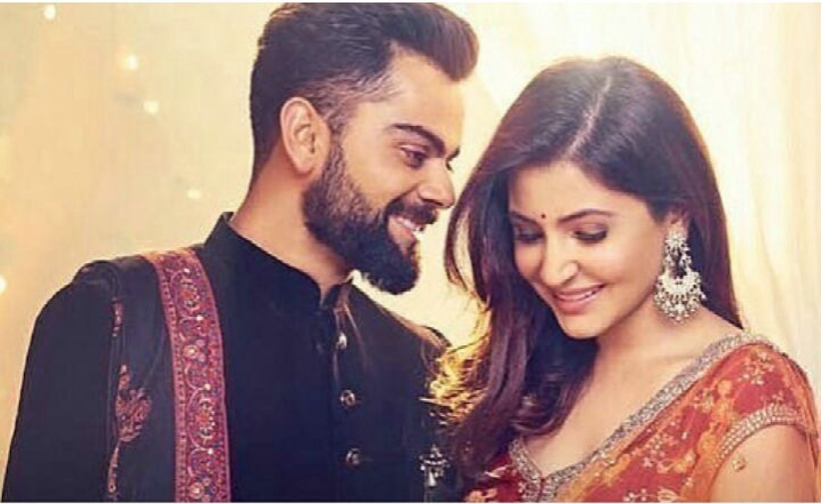 <p>Virat Kohli with Anushka Sharma </p>