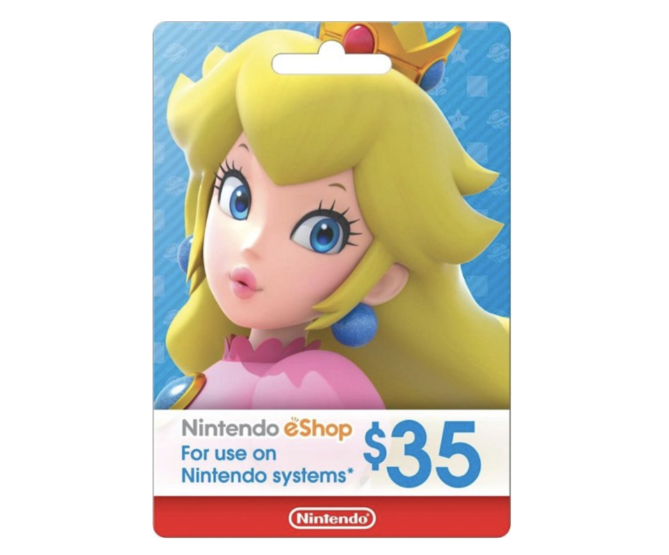 "<p><strong>Nintendo</strong></p><p>bestbuy.com</p><p><strong>$35.00</strong></p><p><a href=""https://go.redirectingat.com?id=74968X1596630&url=https%3A%2F%2Fwww.bestbuy.com%2Fsite%2Fnintendo-eshop-35-gift-card%2F5784106.p%3FskuId%3D5784106&sref=https%3A%2F%2Fwww.seventeen.com%2Ffashion%2Fg788%2Fgifts-for-you%2F"" rel=""nofollow noopener"" target=""_blank"" data-ylk=""slk:Shop Now"" class=""link rapid-noclick-resp"">Shop Now</a></p><p>Nintendo Switches are totally sold out, but you can still stock up on those Nintendo dollars for the next time they restock. </p>"