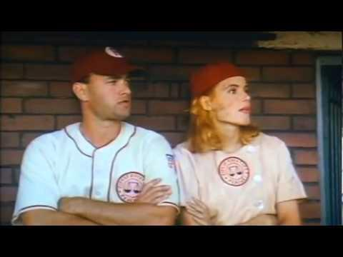 """<p>If you've made it this far in life without watching <em>A League of Their Own</em>, we're going to give you a bit of advice: Head to the couch, and settle in for a little history lesson in greatness. Penny Marshall flick—based on the American Girls Professional Baseball League (AAGPBL), which was<a href=""""https://www.britannica.com/topic/All-American-Girls-Professional-Baseball-League"""" rel=""""nofollow noopener"""" target=""""_blank"""" data-ylk=""""slk:founded in 1943"""" class=""""link rapid-noclick-resp""""> founded in 1943</a>—is a masterclass in storytelling. Told through the lens of feuding sisters and ballplayers Dottie (Geena Davis) and Kit Hinson (Lori Petty), who round out a team of tough, multifaceted women being coached by washed-up slugger Jimmy Dugan (Tom Hanks), this semi-historical drama incorporates the real-life sports stories of several relevant historical female figures into its fibers. Dottie, for instance, is based on the late ballplayer<a href=""""https://www.nytimes.com/2010/05/22/sports/baseball/22kamenshek.html"""" rel=""""nofollow noopener"""" target=""""_blank"""" data-ylk=""""slk:Dottie Kamenshek"""" class=""""link rapid-noclick-resp""""> Dottie Kamenshek</a>—a star first basewoman for the league's own Rockford Peaches. She was later named one of <em>Sports Illustrated</em>'s top female athletes of the century. <br><br><a class=""""link rapid-noclick-resp"""" href=""""https://www.amazon.com/League-Their-Own-Tom-Hanks/dp/B00BZBEPP4/?tag=syn-yahoo-20&ascsubtag=%5Bartid%7C10063.g.35813482%5Bsrc%7Cyahoo-us"""" rel=""""nofollow noopener"""" target=""""_blank"""" data-ylk=""""slk:Watch on Amazon Prime"""">Watch on Amazon Prime</a></p><p><a href=""""https://www.youtube.com/watch?v=tkZTcofj3wU"""" rel=""""nofollow noopener"""" target=""""_blank"""" data-ylk=""""slk:See the original post on Youtube"""" class=""""link rapid-noclick-resp"""">See the original post on Youtube</a></p>"""