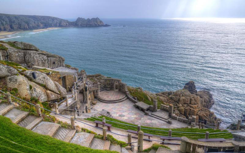 The Minack Theatre staged its first production in 1932 - Matt Gibson
