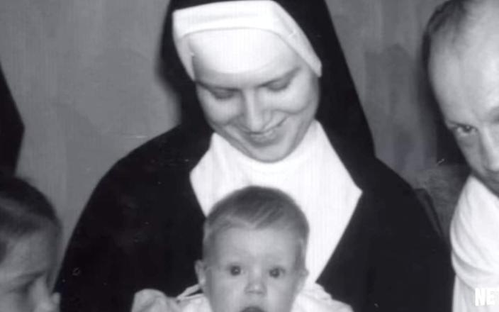 <span>A photpgraph of Sister Cathy Cesnik, shown in the trailer for The Keepers</span>