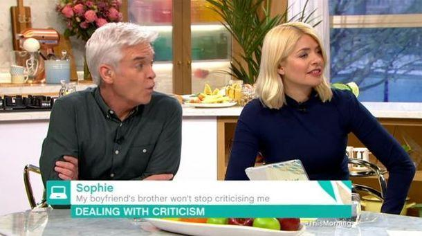 Holly Willoughby accuses man of fancying the woman he's fat-shaming during a phone-in with Venessa Feltz
