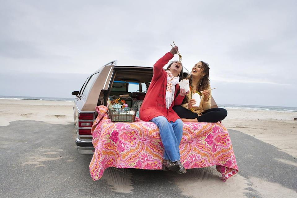 <p>Pop open your trunk and enjoy a picnic! Cooking homemade food is a lovely way to show someone you care about them, so make that gesture even more romantic by driving them to a special location to indulge in it.</p>