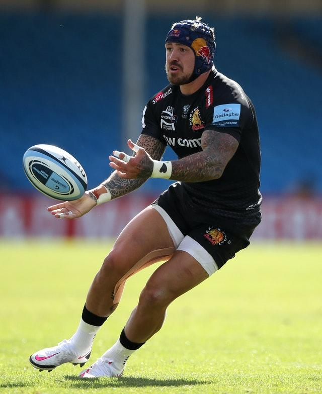 Jack Nowell picked up a foot injury against Toulouse