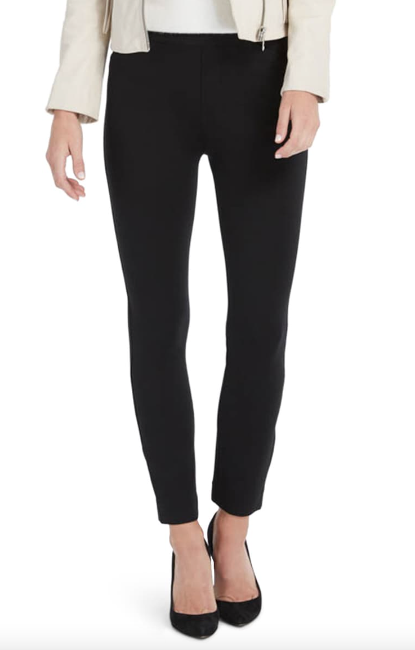 'The Perfect Pant' Skinny Pants in Black (Photo via Nordstrom)