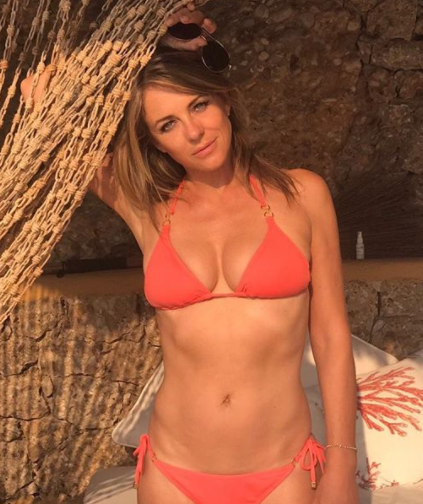 The mum-of-one is stunning at 52. Photo: Instagram/Elizabeth Hurley
