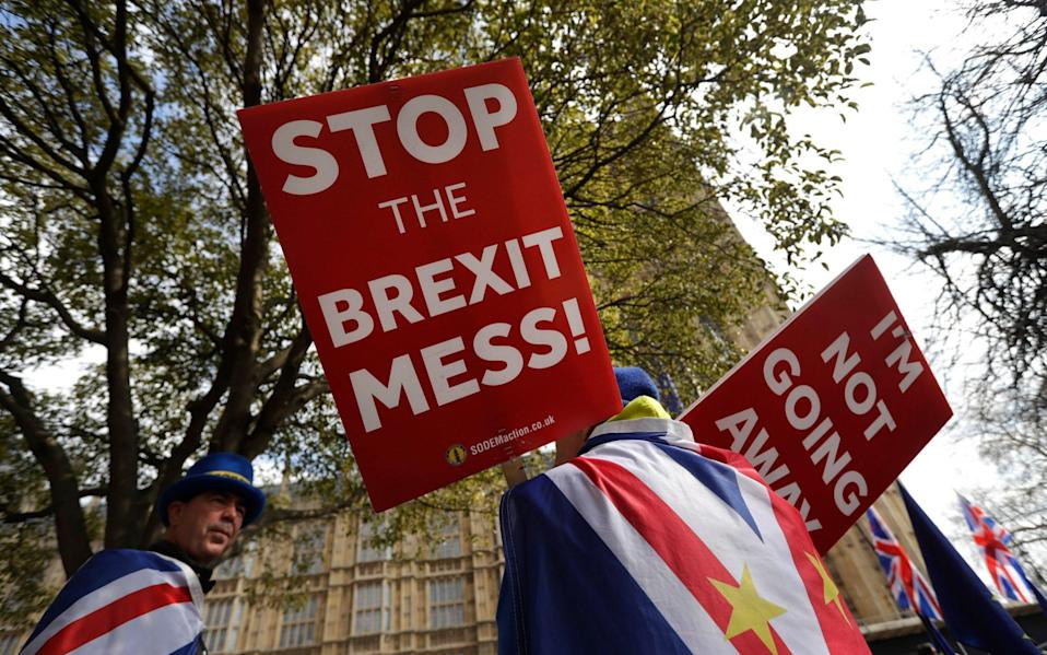 What no-deal Brexit means, how it might happen, and how it might affect daily life in the UK - Kirsty Wigglesworth/AP