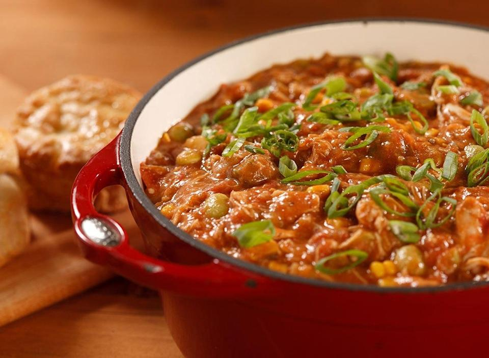 pot of brunswick stew