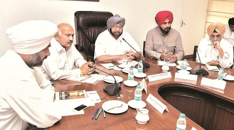 punjab cm amarinder singh, government of punjab, employees of punjab government, punjab news, indian express news