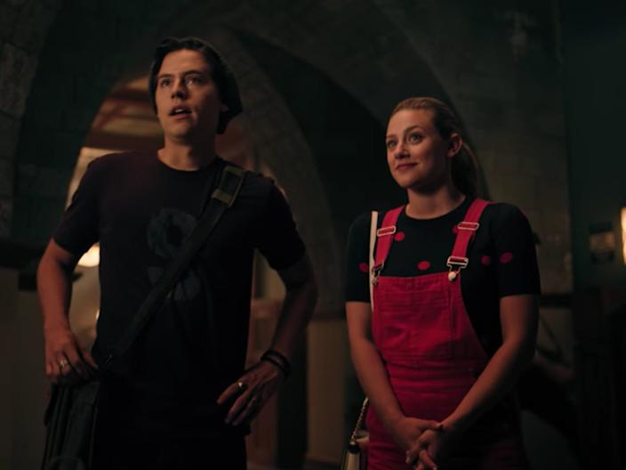 """Cole Sprouse and Lili Reinhart on """"Riverdale."""""""