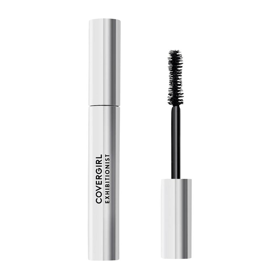 "<p>""Anyone who knows me understands I'm picky with my mascara (and if you don't know me, just trust that I'm a big snob), but the <a href=""https://www.popsugar.com/buy/CoverGirl-Exhibitionist-Mascara-500915?p_name=CoverGirl%20Exhibitionist%20Mascara&retailer=target.com&pid=500915&price=8&evar1=bella%3Auk&evar9=40920323&evar98=https%3A%2F%2Fwww.popsugar.com%2Fbeauty%2Fphoto-gallery%2F40920323%2Fimage%2F47601478%2FCoverGirl-Exhibitionist-Mascara&list1=makeup%2Cbeauty%20products%2Ceditors%20pick%2Cbeauty%20shopping%2Cbeauty%20news%2Cdrugstore%20beauty%2Cskin%20care&prop13=api&pdata=1"" class=""link rapid-noclick-resp"" rel=""nofollow noopener"" target=""_blank"" data-ylk=""slk:CoverGirl Exhibitionist Mascara"">CoverGirl Exhibitionist Mascara</a> ($8) never disappoints. Not only does the hourglass-shaped wand curve ever so slightly to hug every last lash, it also combs without clumping - making mine look bigger, bolder, and more fluttery with every swipe. Get this: Even after a full days-worth of wear, your lashes will look just as good as they did in the morning, with zero smudging or fallout. (No wonder it won a <a href=""https://www.popsugar.com/beauty/Best-Drugstore-Products-Beauty-Awards-2019-46508619"" class=""link rapid-noclick-resp"" rel=""nofollow noopener"" target=""_blank"" data-ylk=""slk:Power Your Pretty award"">Power Your Pretty award</a>.)"" - KC</p>"