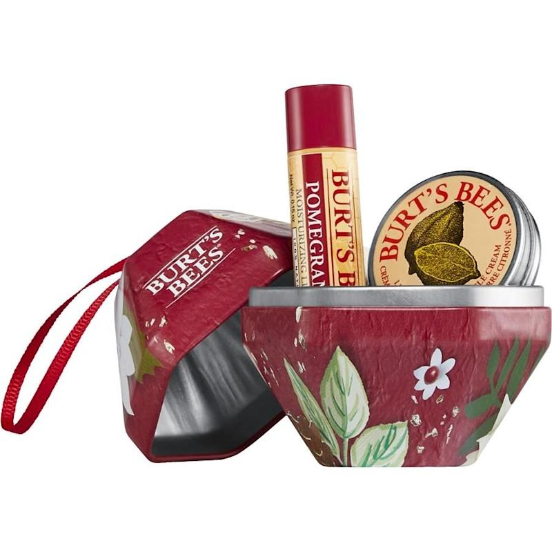 The Burt's Bees baubles are both pretty and practical. Source: Burt's Bees