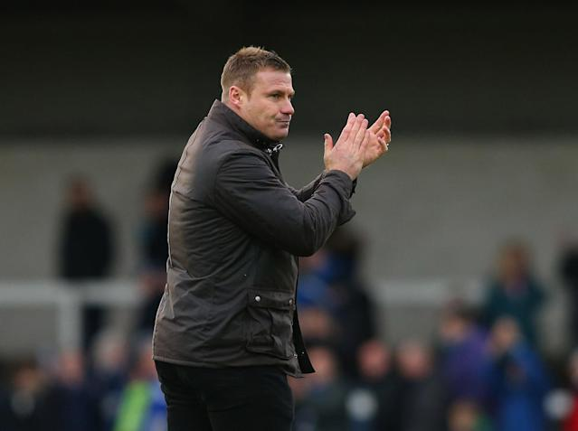 Flitcroft has previously got Bury promoted from League Two: Getty
