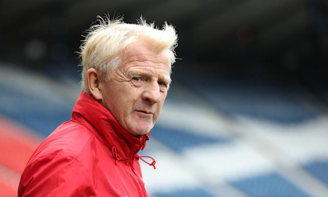 Gordon Strachan, the Scotland manager, has a selection dilemma in midfield, given injuries to Stuart Armstrong and Scott Brown for the game against Slovakia.