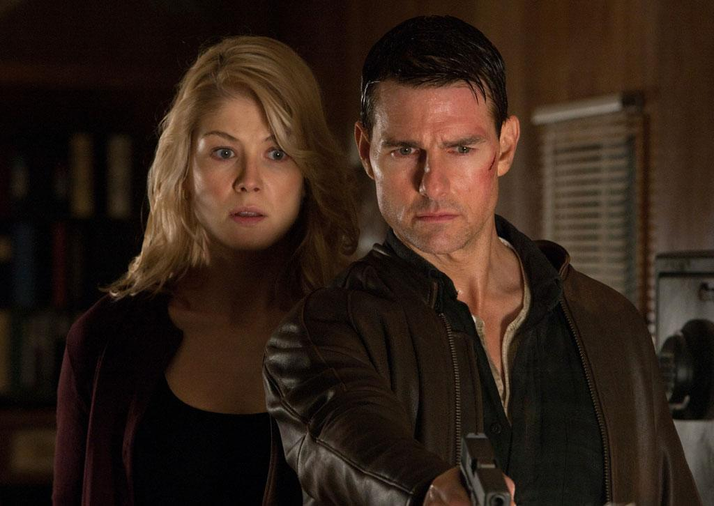 "Rosamund Pike and Tom Cruise in Paramount Pictures' ""Jack Reacher"" - 2012"