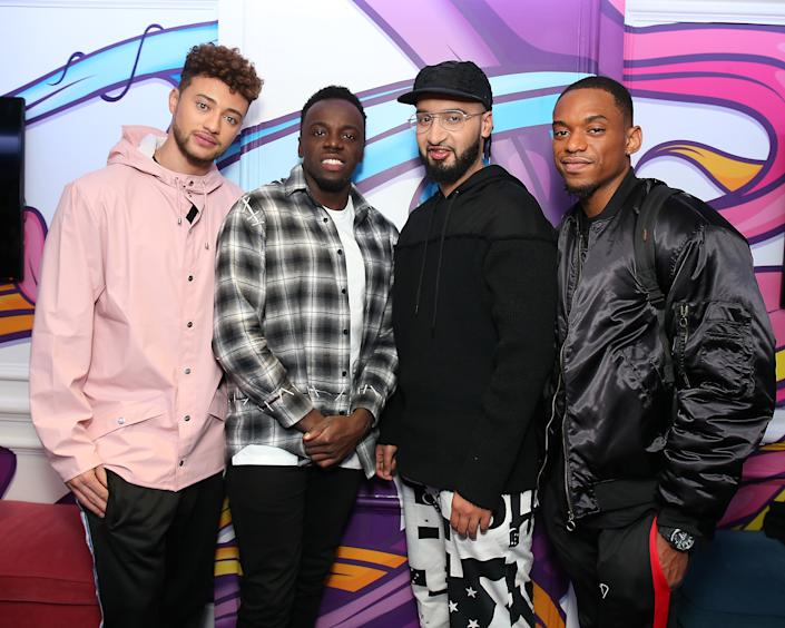 Rak-Su wrote their own winner's single. (Photo by Neil P. Mockford/Getty Images)
