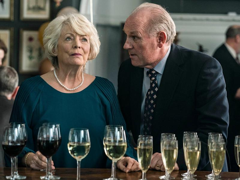 Unhappy couple: Alison Steadman and Peter Davidson as Gail and Henry (BBC/Drama Republic/Gary Moyes)