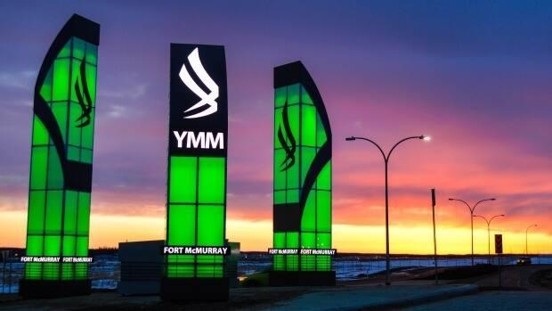 The Fort McMurray International Airport is getting a $15million injection from the Regional Municipality of Wood Buffalo. (Fort McMurray Airport Authority - image credit)