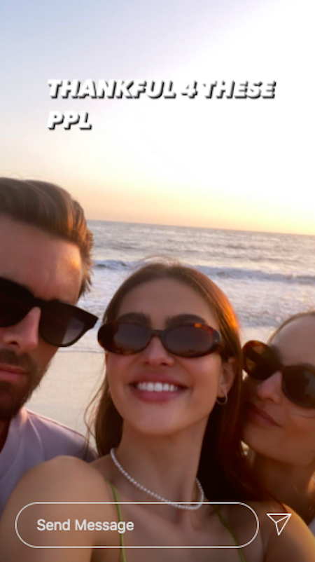 Amelia Hamlin Posts Loved Up Instagram Story About Scott Disick Complements (sic) his s15 and says he loves the build then calls him a broke boy. amelia hamlin posts loved up instagram