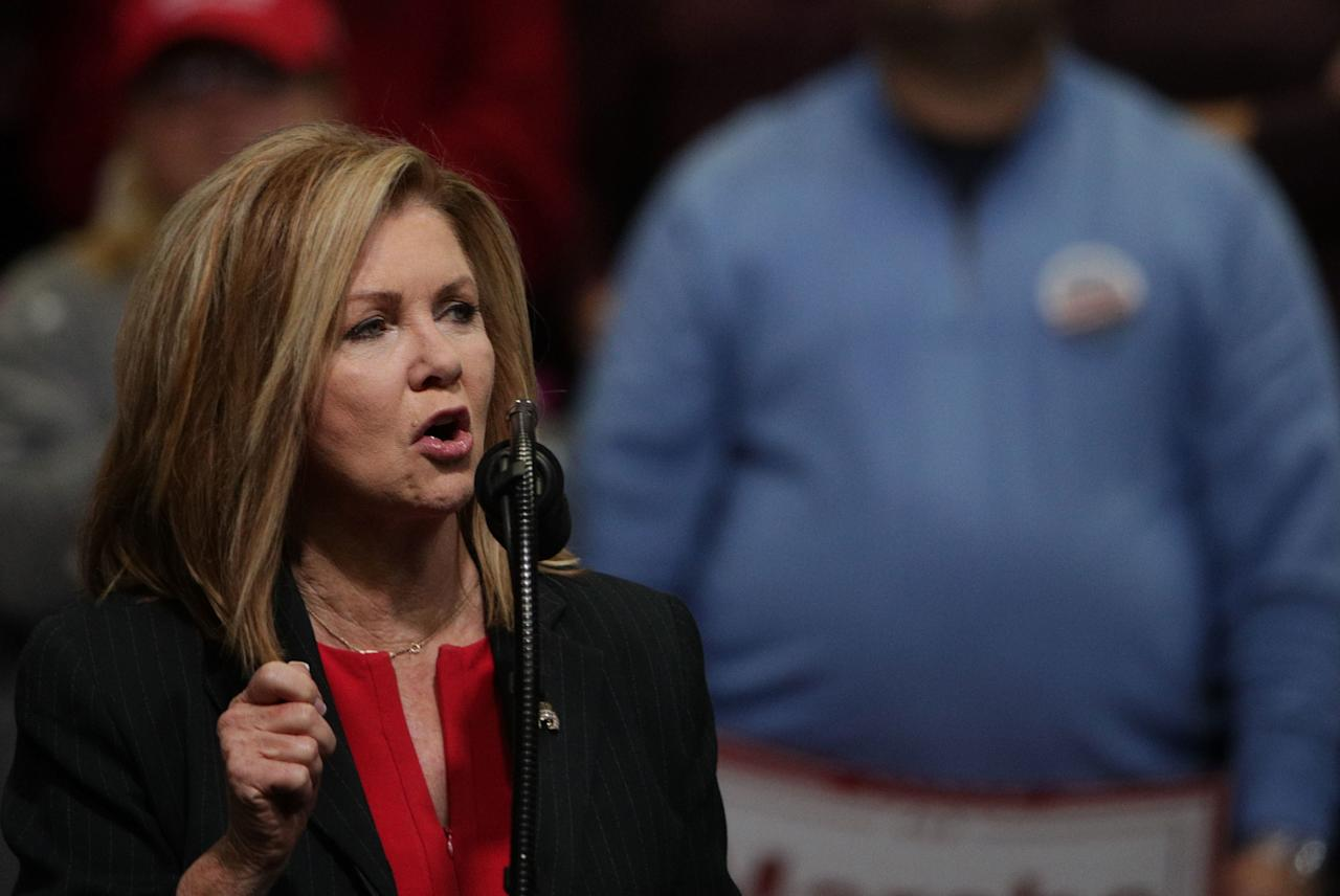 """Republican Representative Marsha Blackburn became the first woman to go to the Senate in Tennessee, where she defeated Democratic former Governor Phil Breseden. The race garnered national attention as President Trump campaigned for Blackburn, while <a rel=""""nofollow"""" href=""""https://www.glamour.com/story/taylor-swift-just-made-a-rare-political-statement?mbid=synd_yahoo_rss"""">Taylor Swift publicly came out in support</a> of her opponent, writing on Instagram that Blackburn's voting record in Congress """"appalls and terrifies"""" her."""
