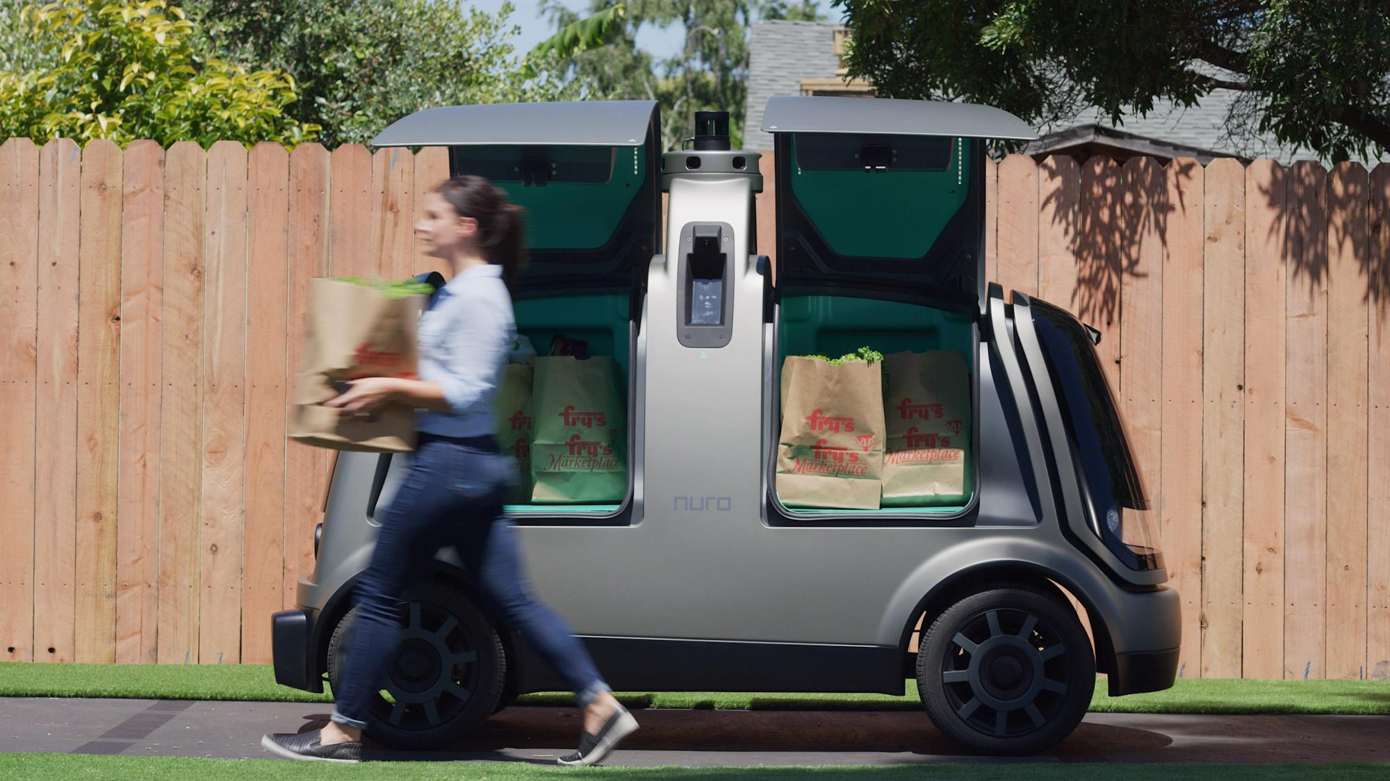 Nuro teams up with Domino's for driverless deliveries