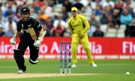 Rain has final say after Williamson's 100 against Australia in Champions Trophy