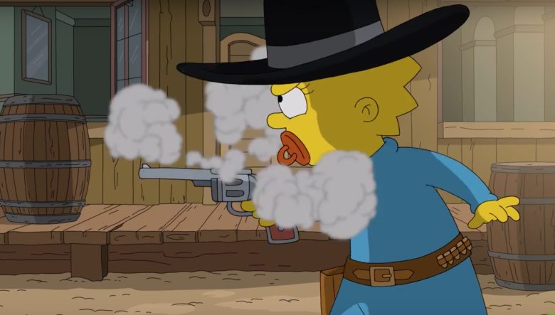 The Simpsons Spoofs Gunsmoke After Becoming Longest-Running Primetime Scripted Series