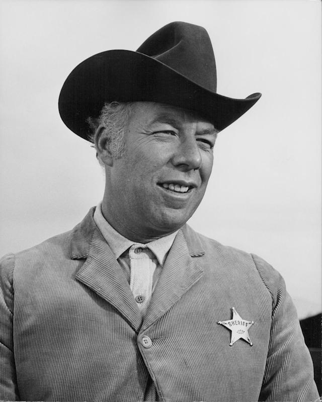 <p>George Kennedy, an actor who won the best supporting actor Academy Award for his role in Cool Hand Luke, died at age 91 on February 28. — (Pictured) Actor George Kennedy in a scene from the movie 'Dirty Dingus Magee', 1970. ( Stanley Bielecki Movie Collection/Getty Images) </p>