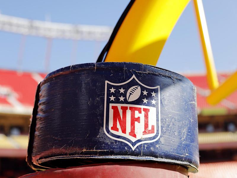 The NFL logo: Getty Images
