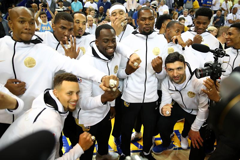 fe2ff0701204 Check out the Warriors  massive new NBA championship rings