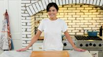 """<p>Her new cooking show, <a href=""""https://people.com/food/selena-gomez-shares-behind-the-scenes-look-at-her-hbo-max-cooking-show/"""" rel=""""nofollow noopener"""" target=""""_blank"""" data-ylk=""""slk:Selena + Chef"""" class=""""link rapid-noclick-resp""""><em>Selena + Chef</em></a>, follows Gomez as she brushes up on her cooking skills while staying at home. The 10-episode series debuted on Aug. 13 and shows Gomez in self-isolation as she tries her hand at new recipes across a variety of cuisines. A different master chef joins her remotely each time to walk her through each dish and share invaluable tips and tricks.</p> <p>Each episode also highlights a different food-related charity.</p> <p>Gomez executive produced the series, collaborating again with Eli Holzman and Aaron Saidman (the three executive produced last year's Netflix docuseries <em>Living Undocumented</em>).</p>"""