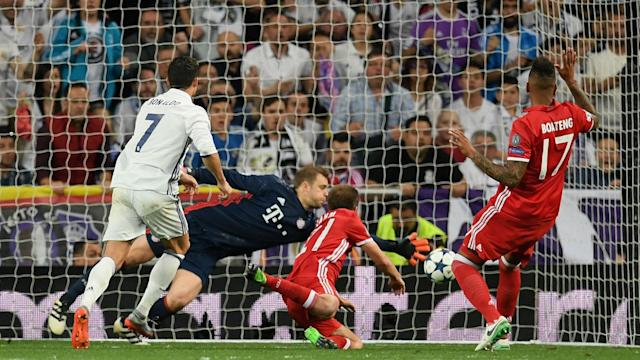 Ronaldo picked up a hat trick Tuesday as Madrid ousted Bayern Munich in extra time.