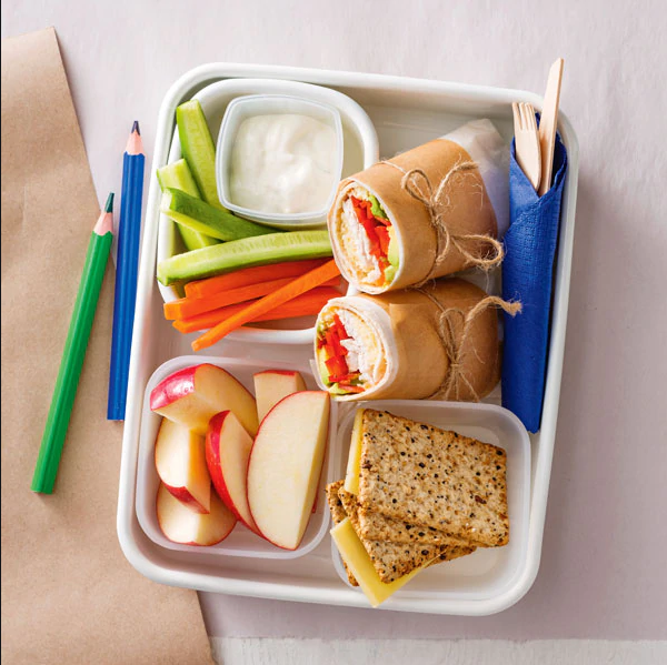 Nutritious lunch box fillers for kids of all ages.