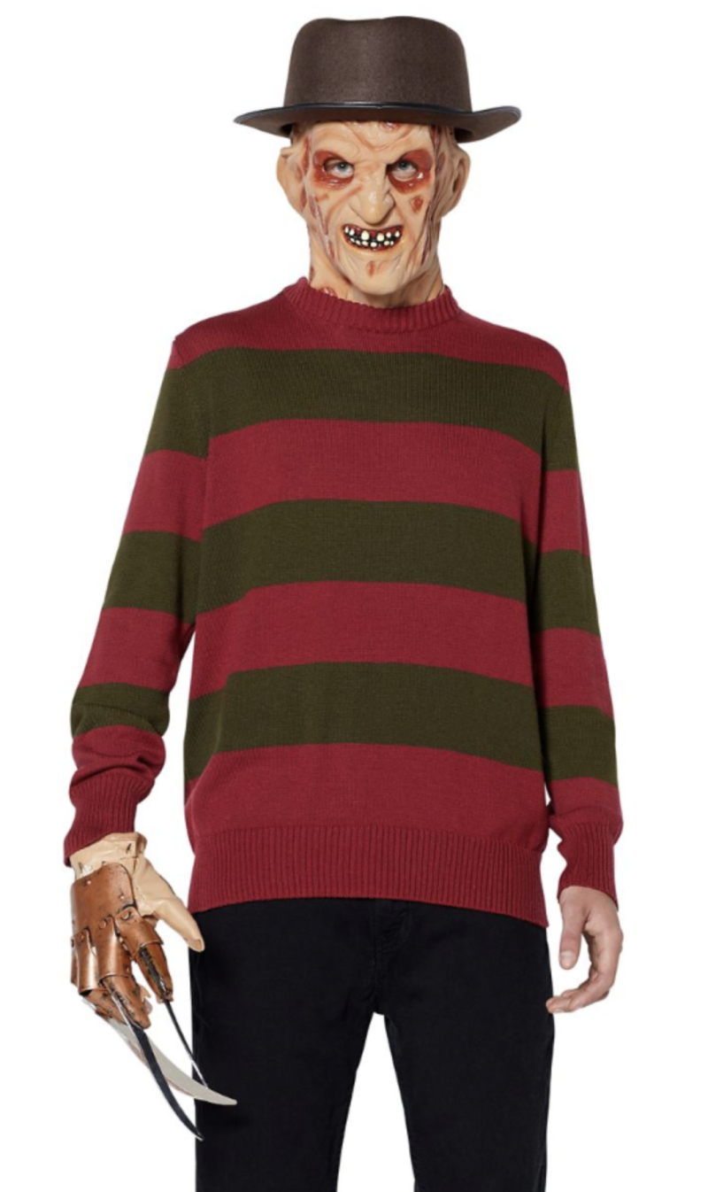 Freddy Krueger sweater (Photo: Spirit Halloween)