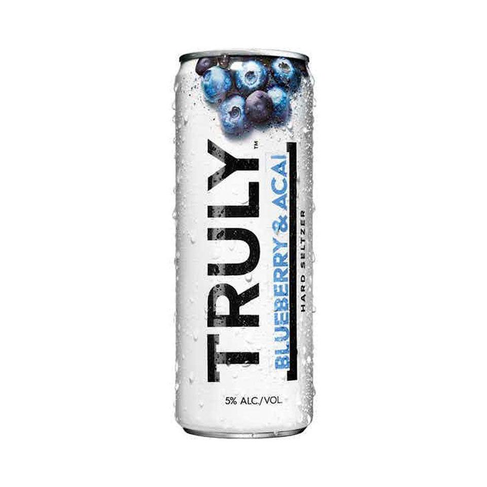 """<p>drizly.com</p><p><a href=""""https://go.redirectingat.com?id=74968X1596630&url=https%3A%2F%2Fdrizly.com%2Fbeer%2Fspecialty-beer-alternatives%2Fhard-seltzer%2Ftruly-hard-seltzer-blueberry-and-acai-spiked-and-sparkling-water%2Fp86503&sref=https%3A%2F%2Fwww.cosmopolitan.com%2Ffood-cocktails%2Fg36596713%2Fbest-hard-seltzers%2F"""" rel=""""nofollow noopener"""" target=""""_blank"""" data-ylk=""""slk:BUT IT HERE"""" class=""""link rapid-noclick-resp"""">BUT IT HERE</a></p><p>Some of the best hard seltzer flavors come from two different tastes placed in opposition. Here, it's the earthiness of the acai tempering the more saccharine blueberry.<br><strong><br>Crushability: </strong>4<strong><br>Craveability:</strong> 3.5<strong><br>Creativity:</strong> 3<strong><br>Overall:</strong> 10.5<br><strong><br>Calories:</strong> 100<strong><br>Sugar:</strong> 1g<strong><br>ABV:</strong> 5%</p>"""