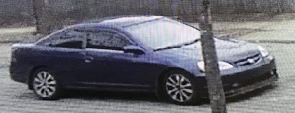 PHOTO: Police are searching for the vehicle in connection to the disappearance of Charlotte Moccia, 11, in Springfield, Mass., Jan. 15, 2020. (Massachusetts State Police )