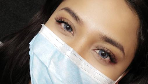 Looking Good with a Face Mask On: Eyebrow Embroidery, Eyelash Extensions, Makeup and More