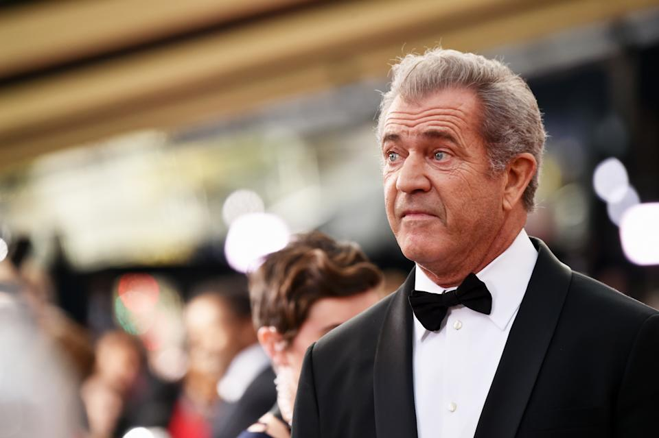 Mel Gibson attends the 89th Annual Academy Awards at Hollywood & Highland Center on February 26, 2017 in Hollywood, California.  (Photo by Frazer Harrison/Getty Images)