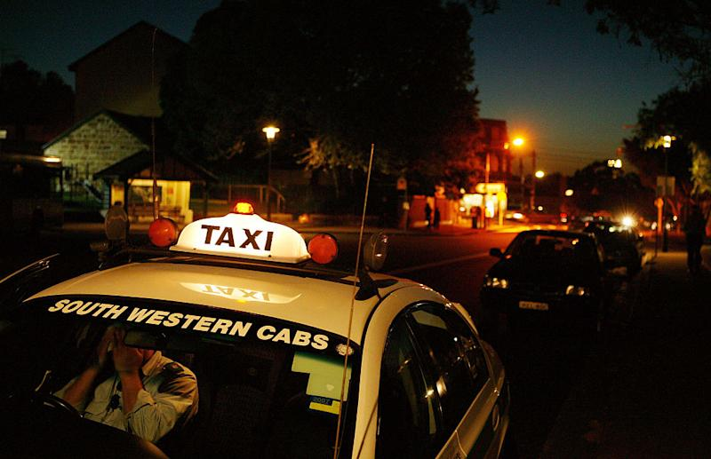 Stock image of a south-western Sydney taxi parked on the side of a road. Source: Getty