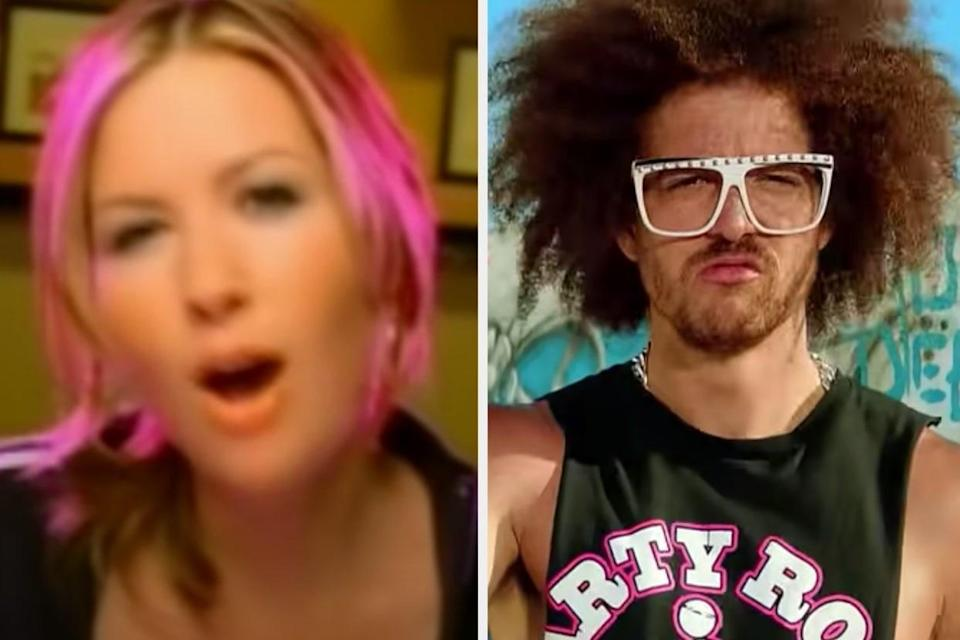 """Dido """"White Flag"""" and LMFAO """"Sexy and I Know It"""""""