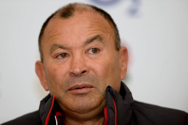 Soccer Football - England Press Conference - Pennyhill Park, Bagshot, Britain - March 15, 2018 England head coach Eddie Jones during the press conference Action Images via Reuters/Adam Holt