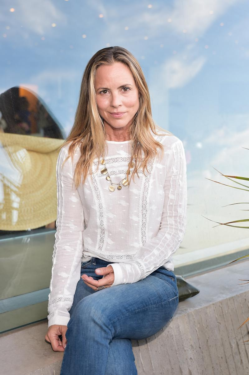 Maria Bello attends the fourth annual 2018 MAK Games fundraiser in Beverly Hills, California.
