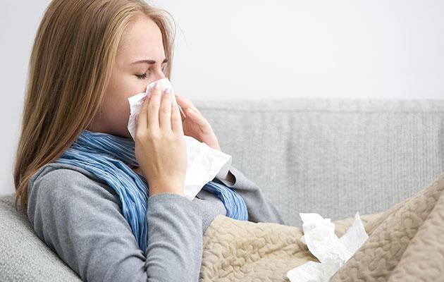 If you are sick don't return to work. Photo: Getty