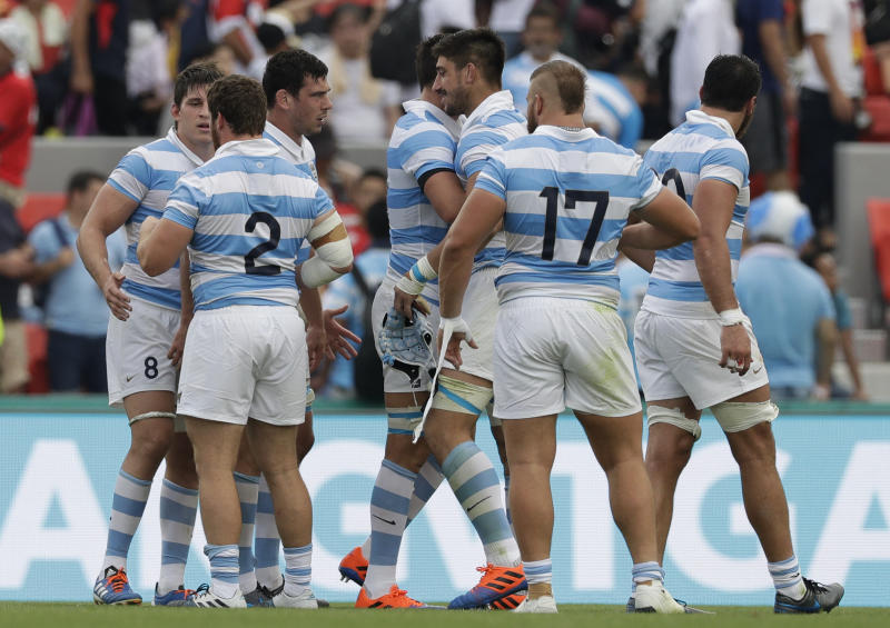 Japan Rugby WCup Argentina Tonga