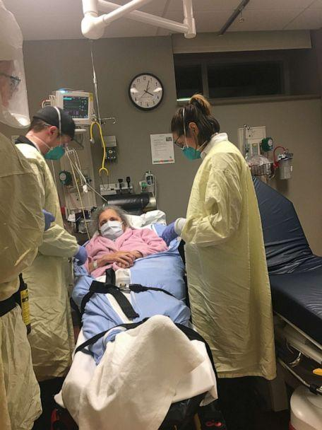PHOTO: Susan Marie Hailey, a resident at Life Care Center in Washington State, said she cannot leave her room because the facility has been hit with the novel coronavirus. (Carmen Gray)
