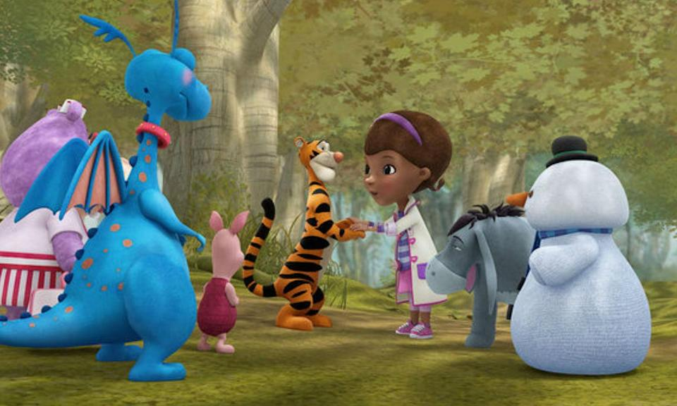 "<p>""Into the Hundred Acre Wood!"" is the one-hundred and eighth episode of the Disney Junior animated series Doc McStuffins and featured Winnie, Tigger, Piglet and friends meeting the Doc and Toys of McStuffinsville. </p>"